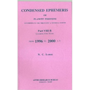 Lahiri Condensed Ephemeris From 1996-2000