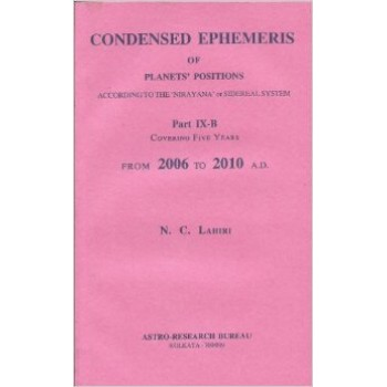 Lahiri Condensed Ephemeris From 2006-2010